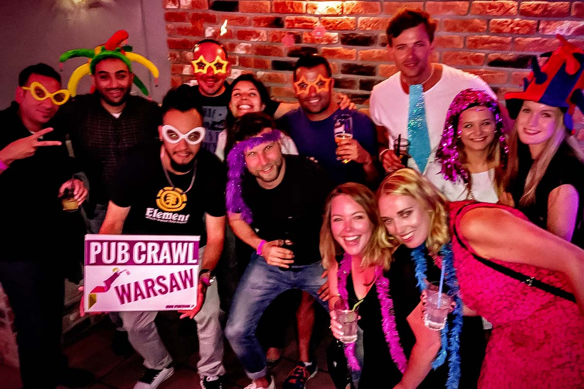 Pub Crawl Varsovia