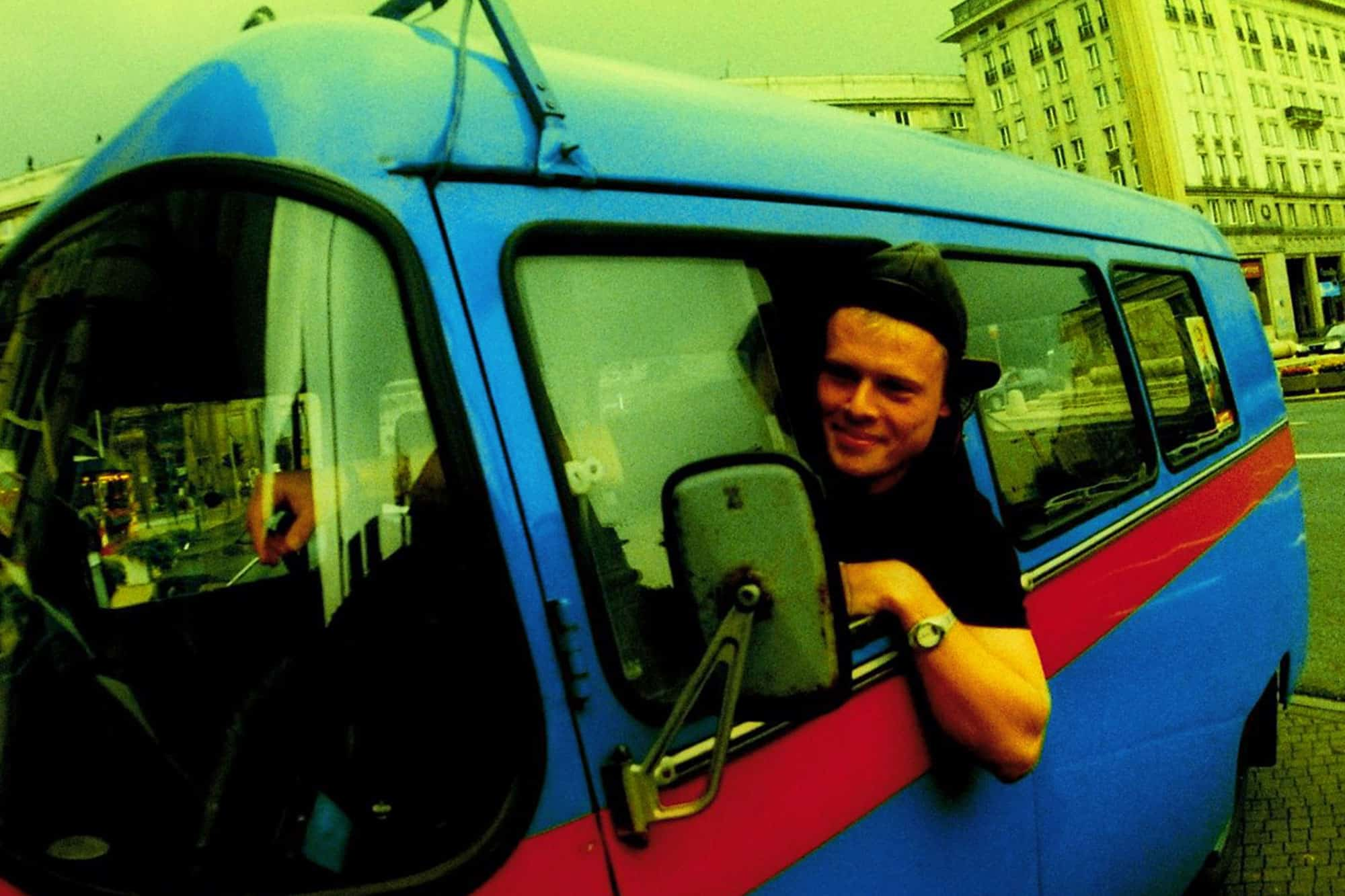 One of the guides in Nysa old van