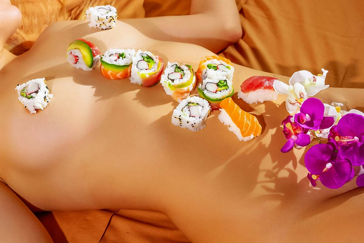 Stag Do Idea - Body Sushi
