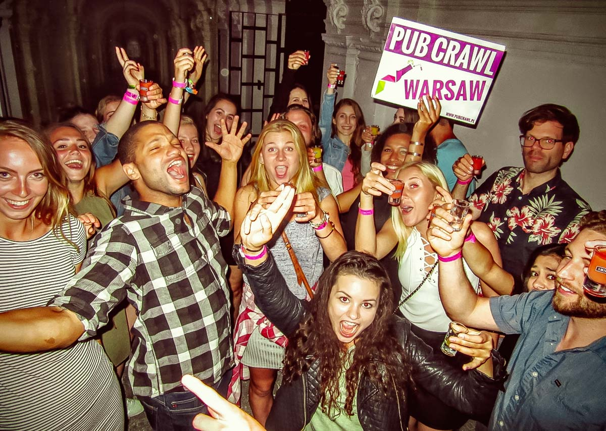 Warsaw Pub Crawl Parties