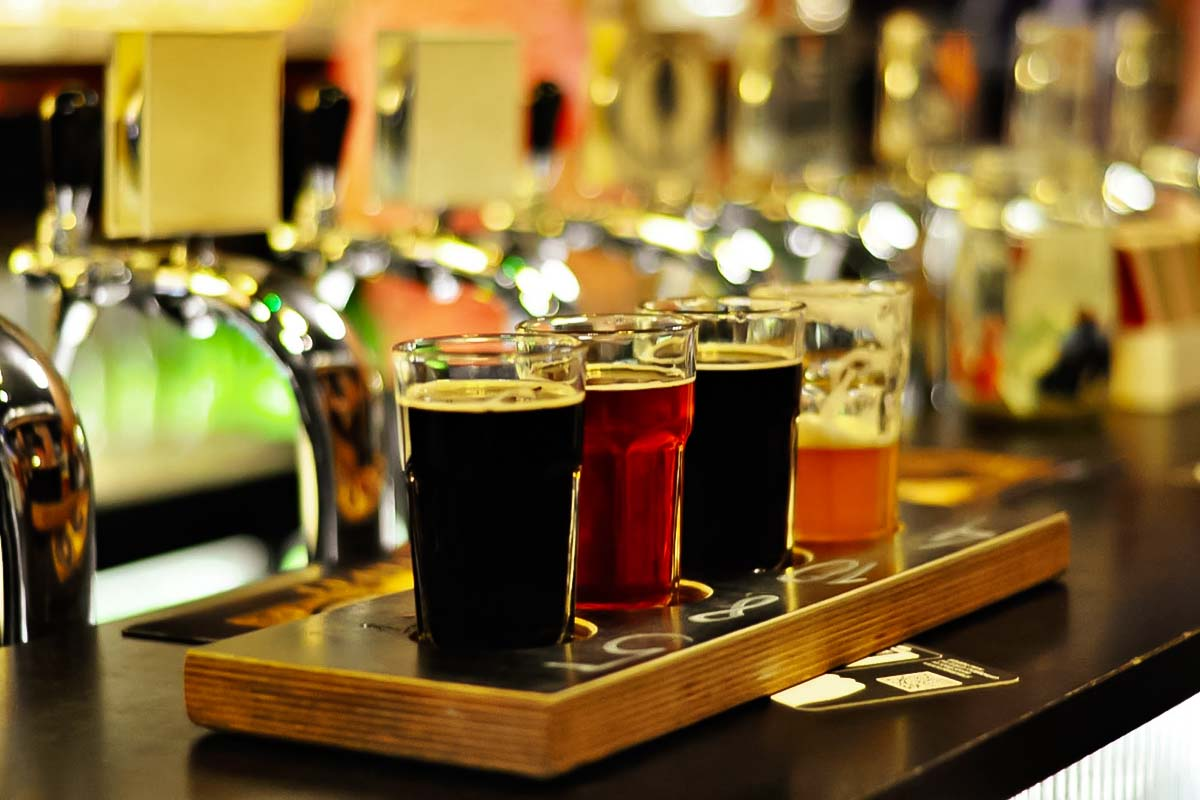 would you like to pour the beer yourself? It is an amazing experience ;)