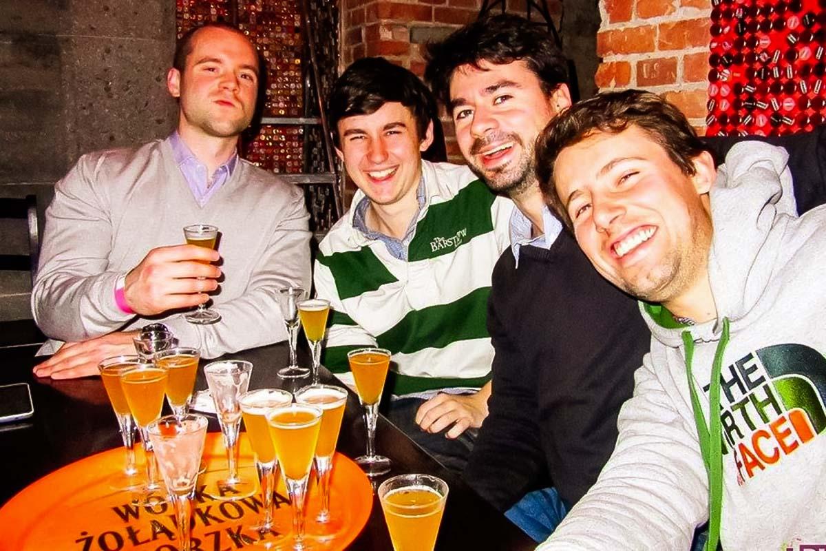 מסיבת רווקים על טעימות בירה בגדנסק