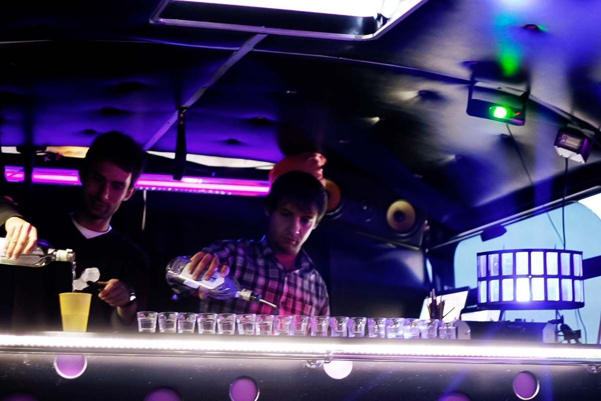 Professional bartender and a DJ for your corporate activity in Gdansk