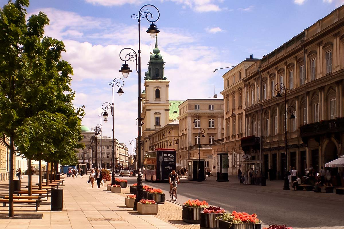 Image result for warsaw old town