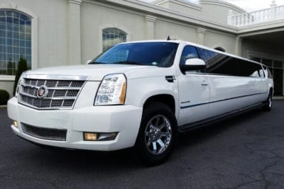Rent a cadillac limousine for a stag party or bachelorette weekend in Krakow
