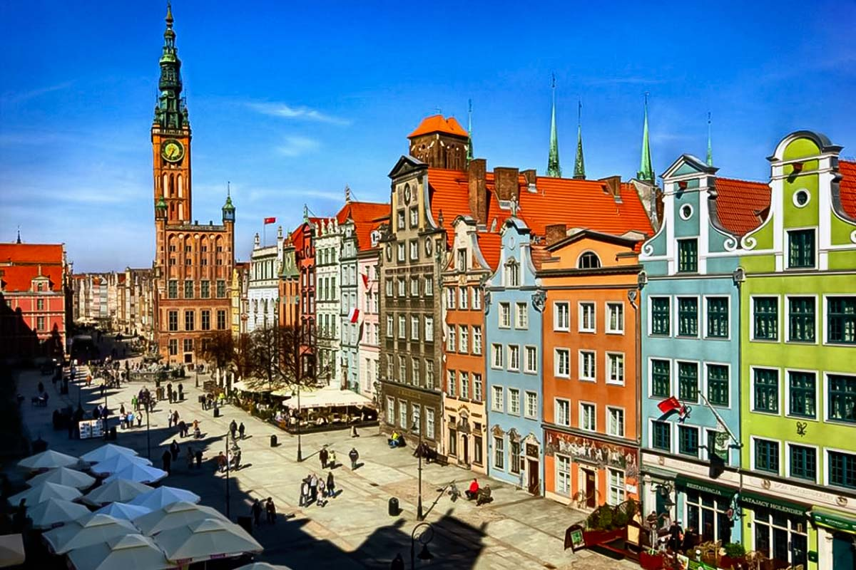 Old Town Private Tour around Gdansk with a fun and reliable city guide