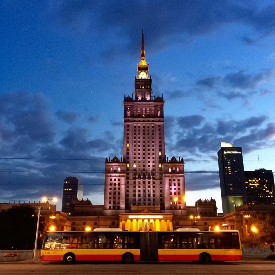 Kuljetus Varsovassa