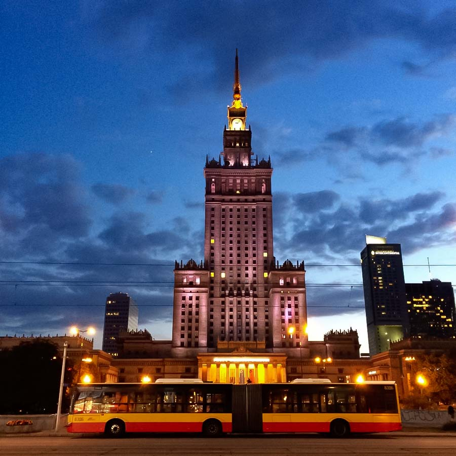 Transporte em Varsóvia