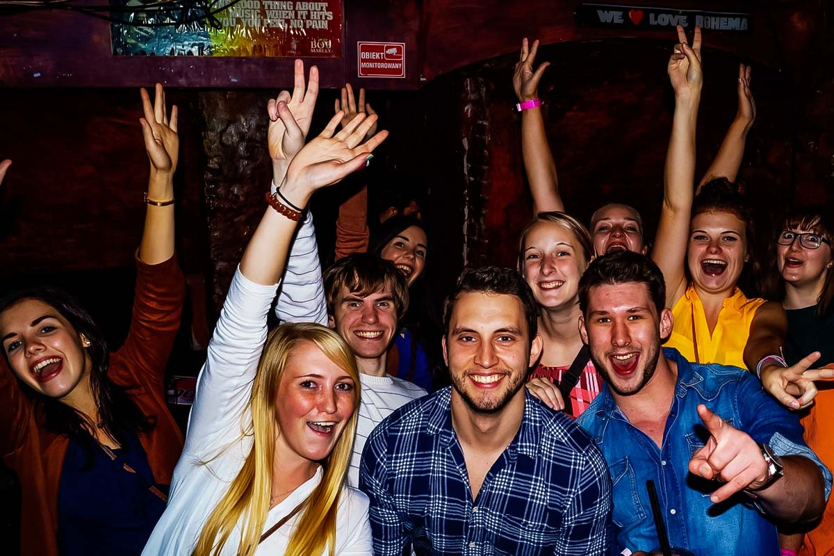 Pub Crawl Wroclaw is a great opportunity to experience the best bars & clubs in Wroclaw
