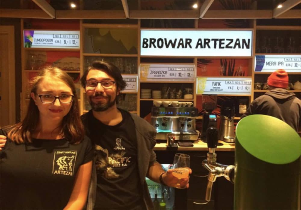 Browar Artezan is a king of craft beer spots in Warsaw