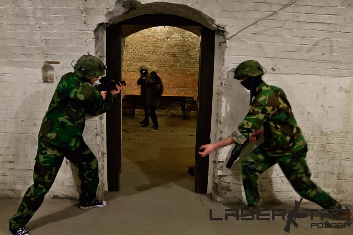 Laser tag in Poznan is an exciting game for a group of friends