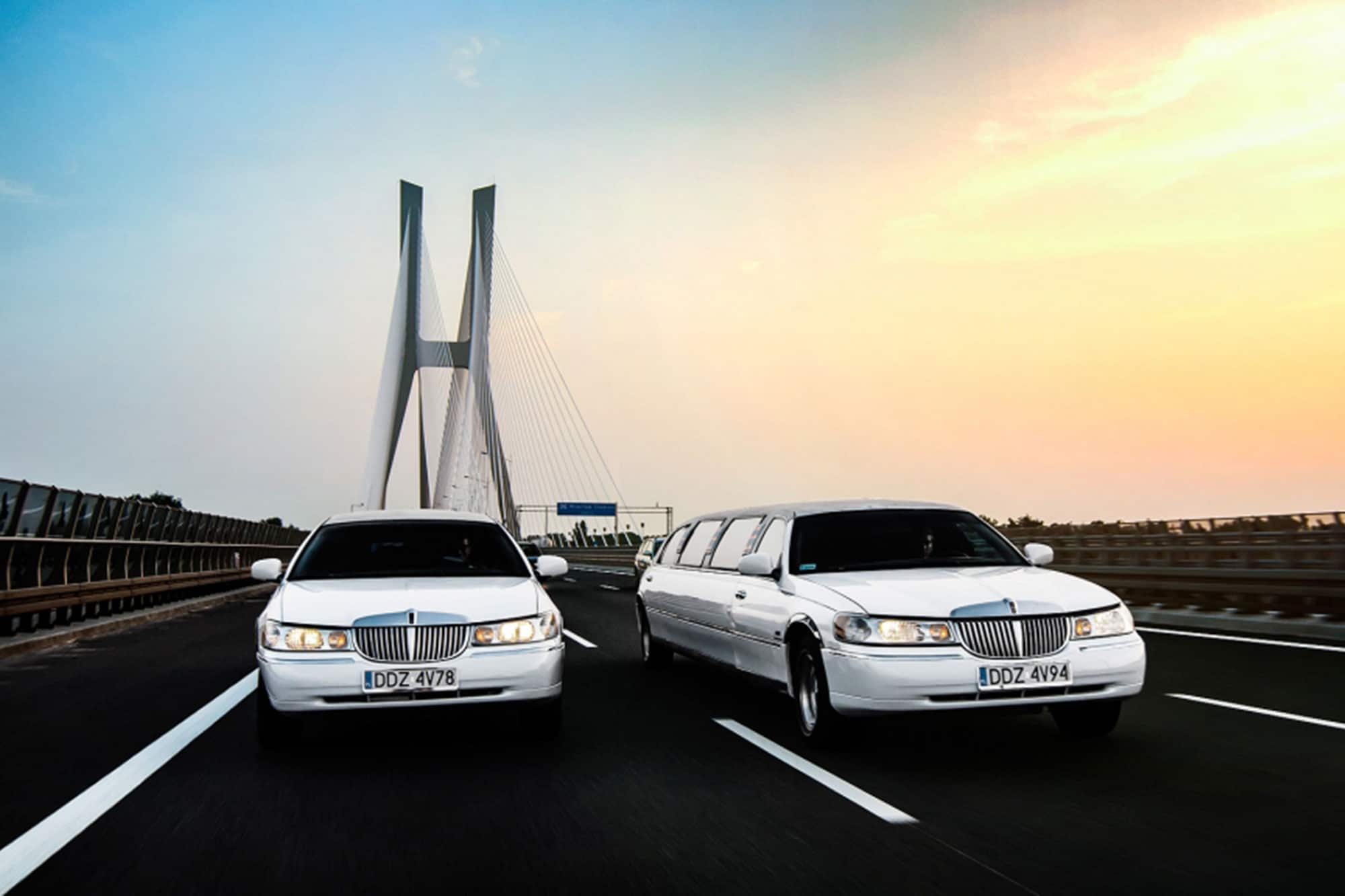 Limousine for airport transfer in Wroclaw is premium