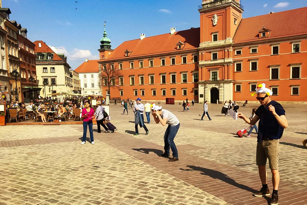 City Game Warsaw for small and big groups in the heart of the Polish capital