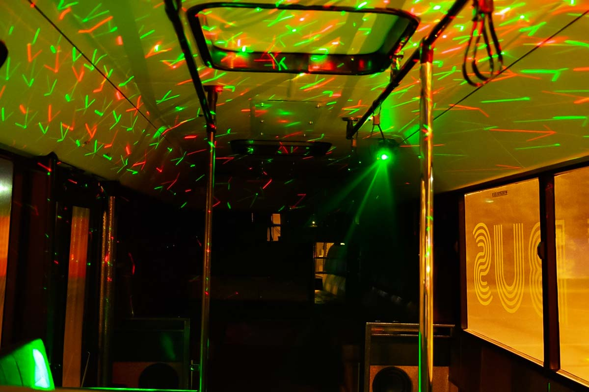 party bus for a bachelor activity in wroclaw