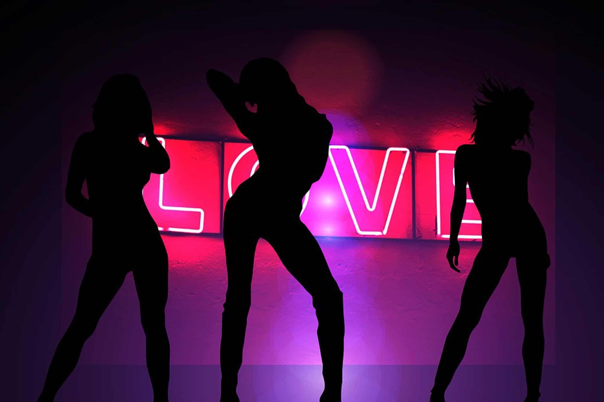 танцующие телки в клубах