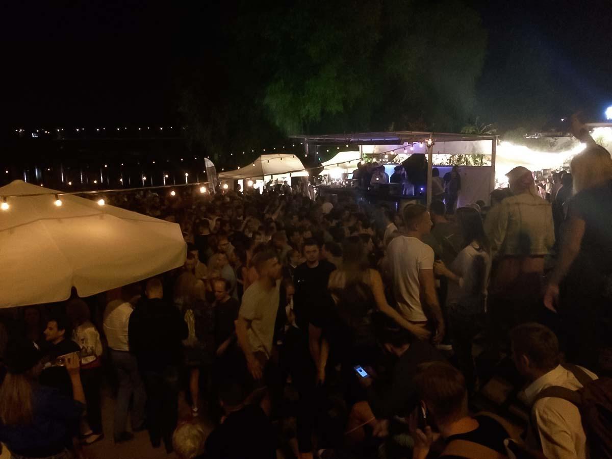 Wisla Party in Warsaw