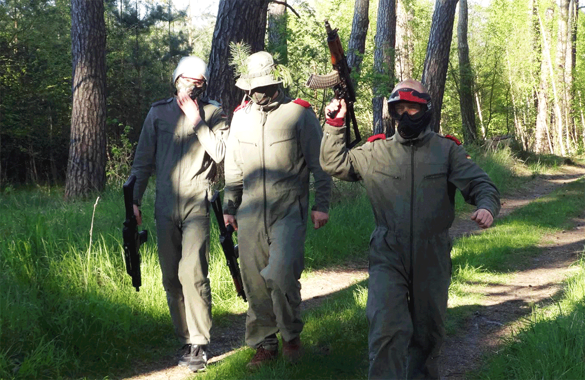 Poznan Airsoft Battle for groups