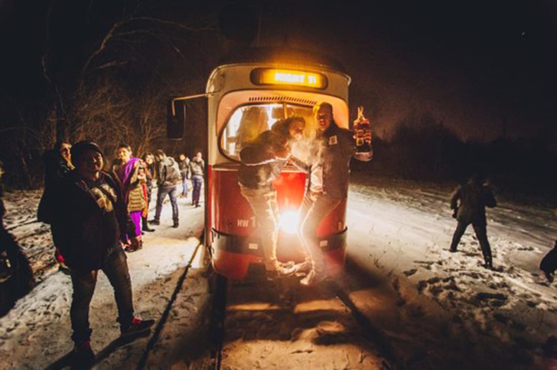 Hire a private party tram in breslau
