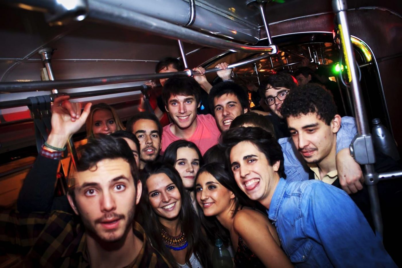 Book a private tram party for you and your friends