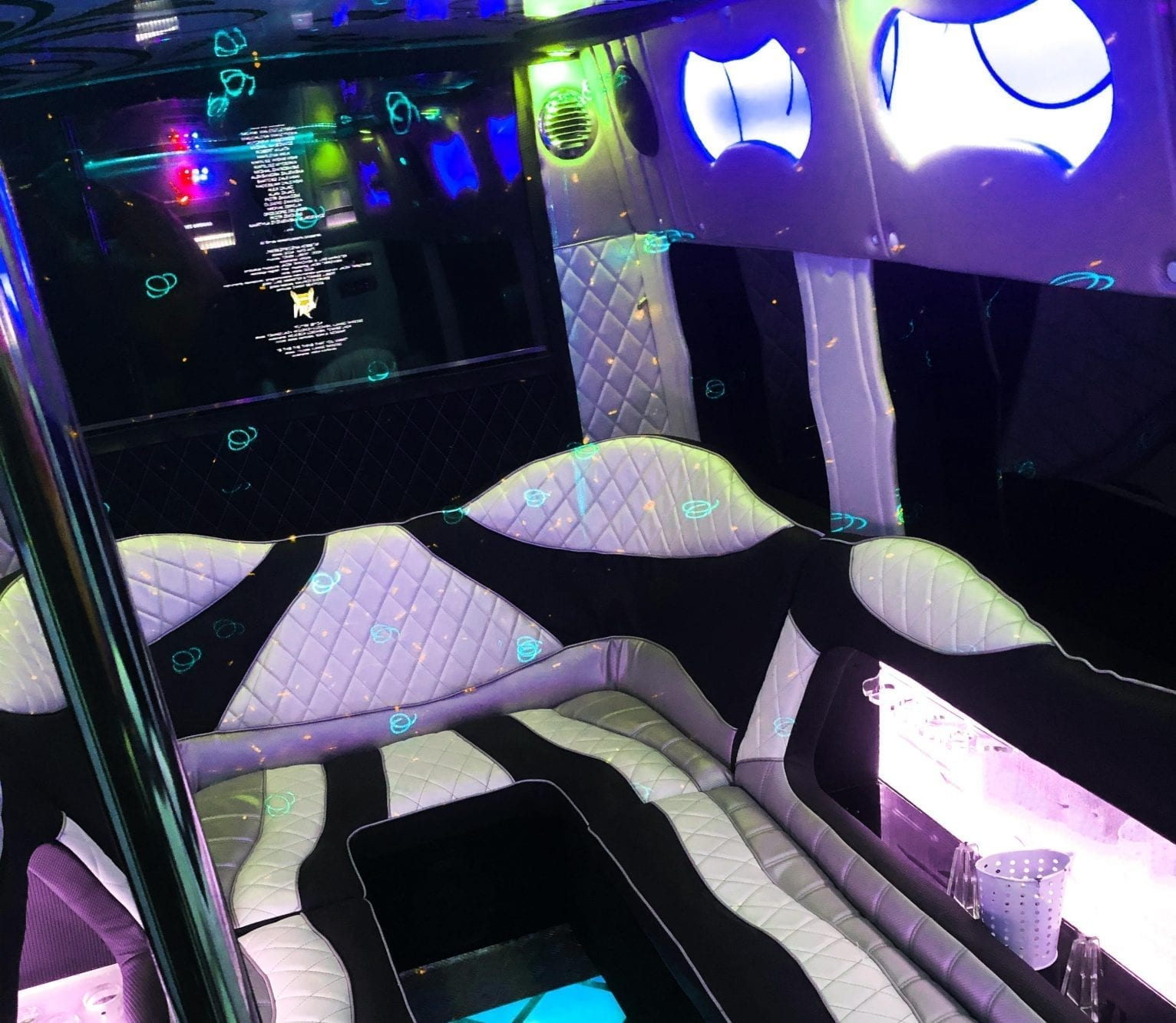 Party in a van in Wroclaw stripper bus