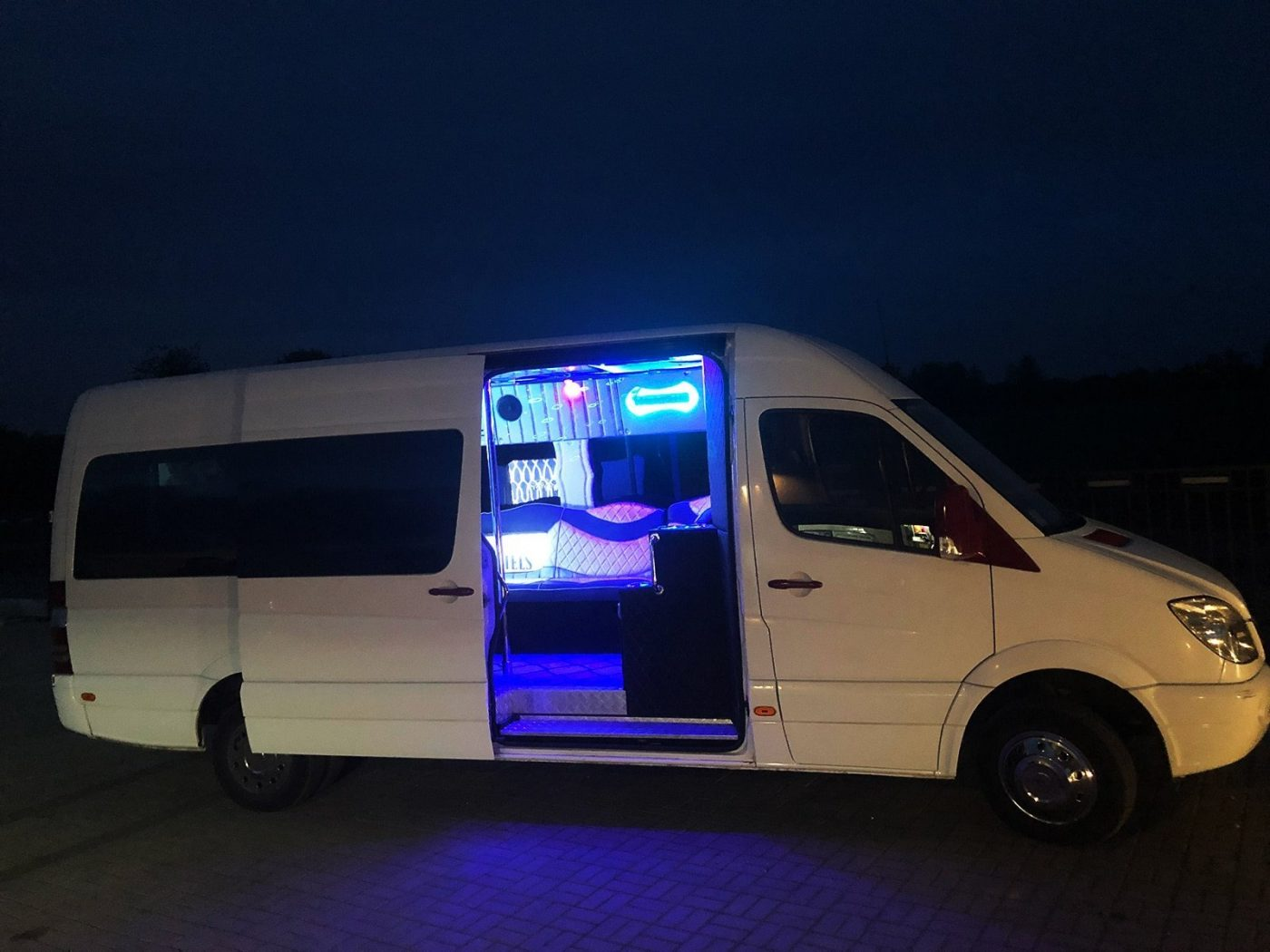 Party Bus for a hen party in Wroclaw